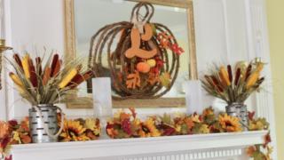 Decorating Mantel Ideas For Fall Decor