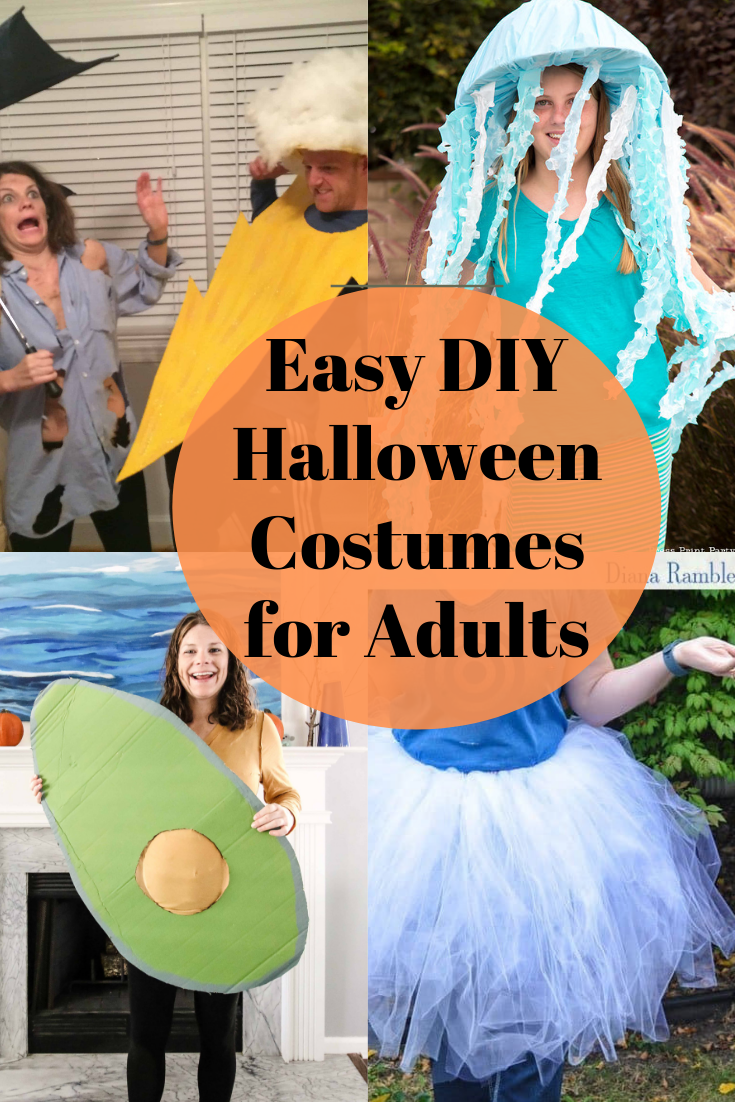 last minute costume ideas for adults