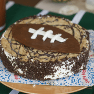 Easy Football Cake For Your Game Day Menu