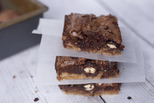 Easy Brownie Recipe: Slutty Brownies With a Halloween Twist