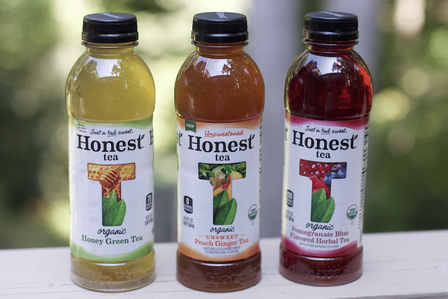 Honest tea bottles