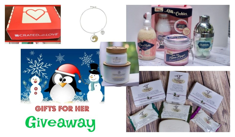 Cool Gifts for Women Holiday Giveaway