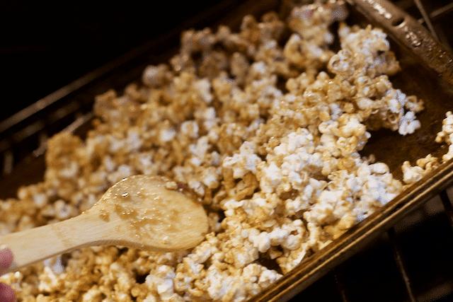 You've Been Booed Caramel Corn Recipe Ideas