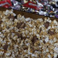 You've Been BOOed Ideas Plus Chocolate Bar Caramel Corn Recipe