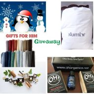 Holiday Gifts for Men Prize Pack