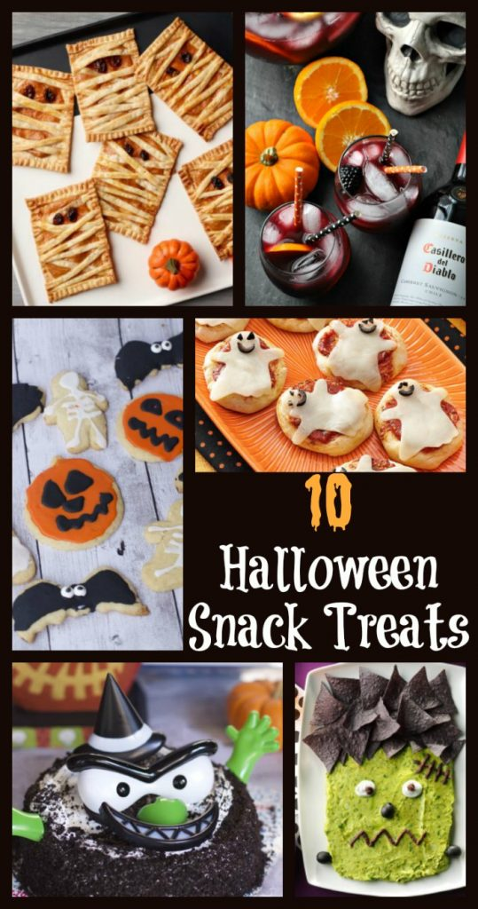 halloween snack treats