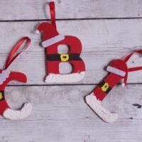 Personalized DIY Santa Letter Ornaments