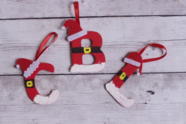 Personalized DIY Santa Letter Ornaments