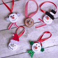 Christmas Ornament Making Using Tea Lights