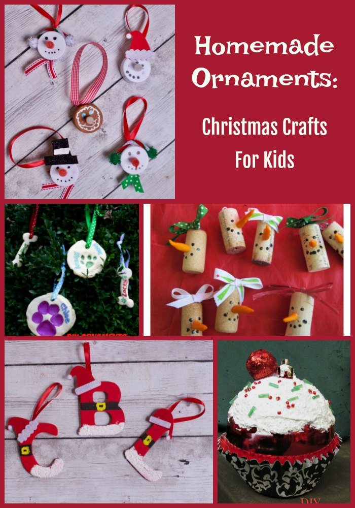 15 Christmas Crafts For Kids (Homemade Christmas Ornaments)