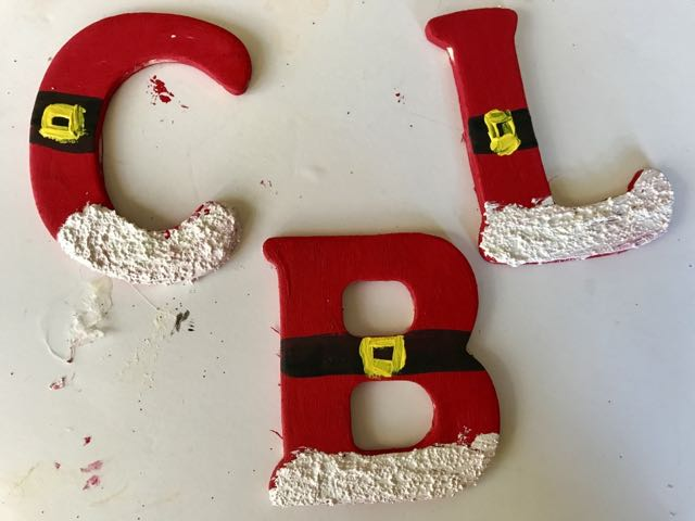 christmas ornament making personalized santa letter ornaments