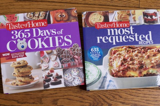 Best of taste of home recipes cookbooks