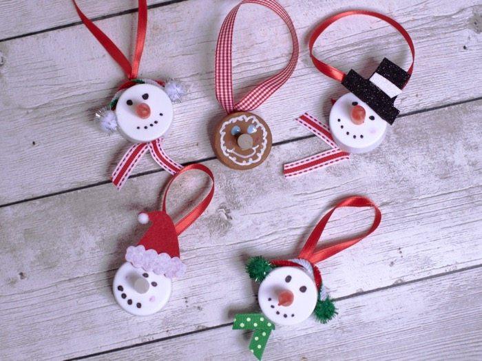 tea light christmas ornament making 15 Christmas Crafts For Kids (Homemade Christmas Ornaments)
