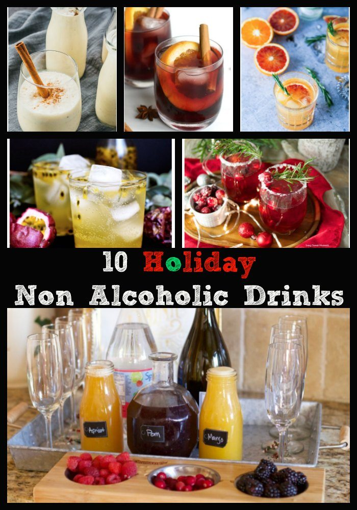 10 Non Alcoholic Drinks To Serve at Your Holiday Party