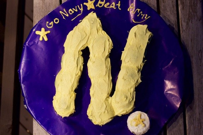 Army Navy Game Day Dessert Idea