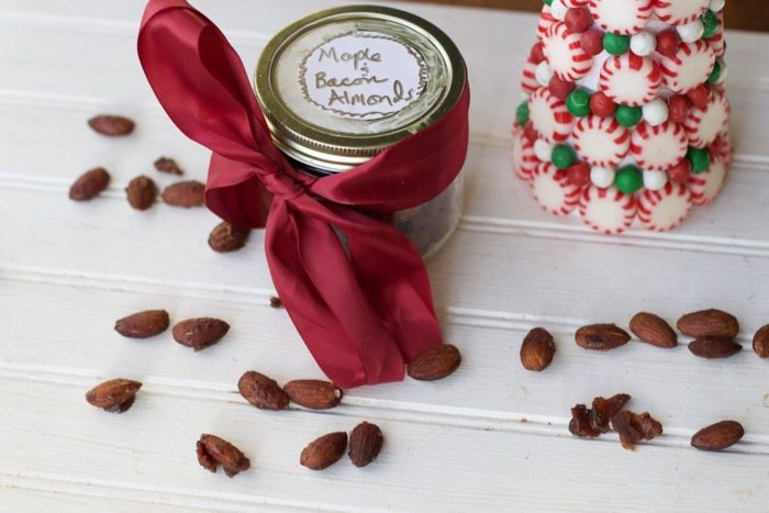Bacon Maple glazed Almonds Gift idea