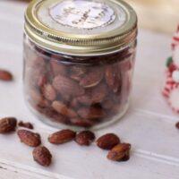 Maple Bacon-Glazed Almonds
