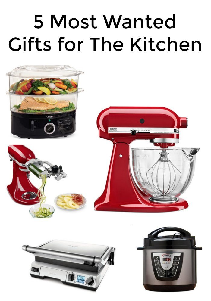 Five Most Wanted Christmas Gifts for The Kitchen
