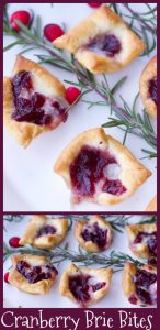 Recipes for a crowd Cranberry Brie Bites