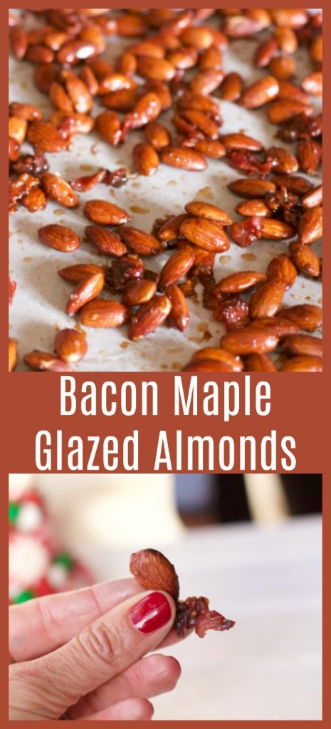 Bacon Maple glazed Almonds Gift idea v