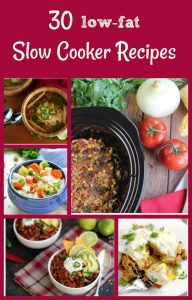 30 low fat slow cooker recipes
