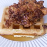 Weeknight Chicken and Waffles Recipe