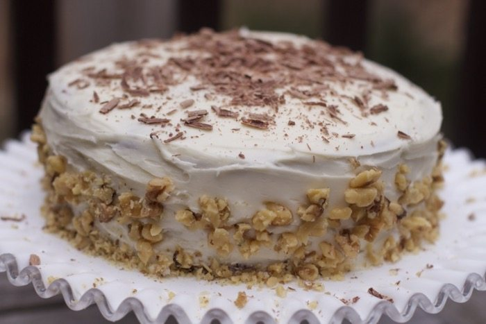 chocolate banana cake basic cream cheese icing