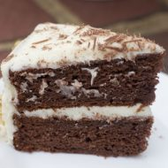 Chocolate Banana Cake With Basic Cream Cheese Icing