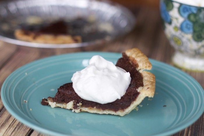 Extra Easy Chocolate Chess Pie Recipe