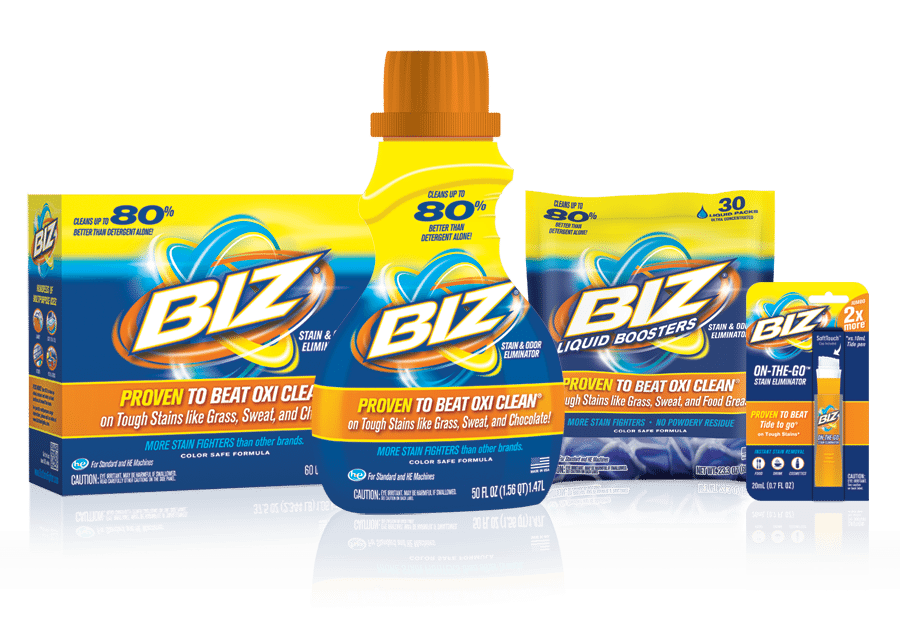 Intro To BIZ Stain Booster