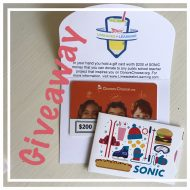 Join SONIC in Their Limeades for Learning Program thru DonorsChoose and Giveaway
