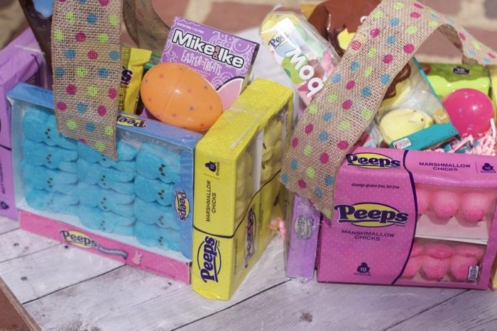 Peeps Candy DIY Easter Basket Ideas