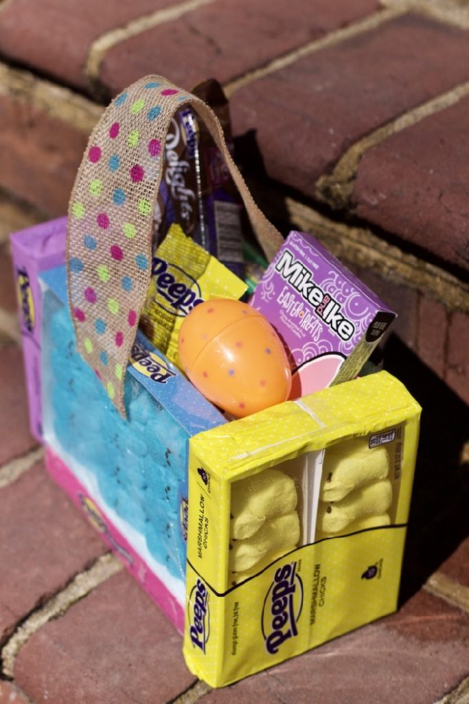 Peeps Candy DIY Easter Basket v