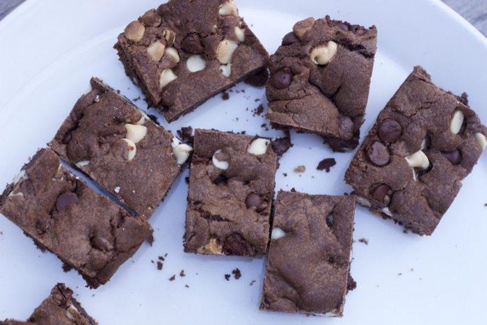 Chocolate Cake Mix Cookie Bars