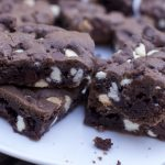 The Best Cookie Bars made from Chocolate Cake Mix