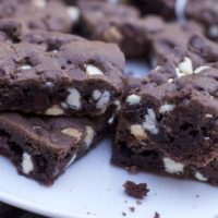 Bar Cookies from Chocolate Cake Mix