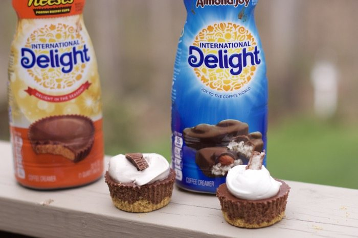 coffee creamer mini cheesecakes