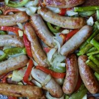 Italian Sausage and Pepper Sheet Pan Dinner