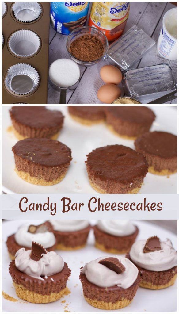 Secret Ingredient Mini Candy Bar Cheesecake Recipe
