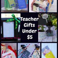 12 Easy Homemade Teacher Appreciation Gift Ideas under $10
