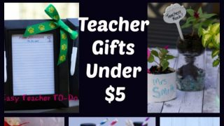 12 Easy Homemade Teacher Appreciation Gift Ideas under $10