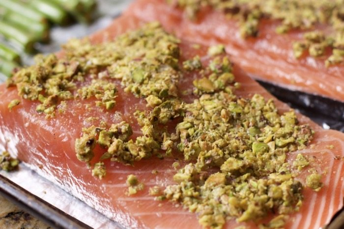 Sheet Pan dinners Salmon and Asparagus
