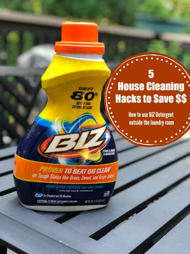 5 House Cleaning Hacks To Save Money