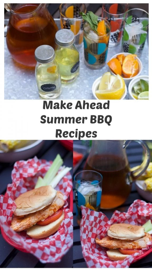 Make ahead BBq Dinner REcipe