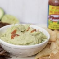 Crowd Pleasing Appetizer: Spicy Avocado Bean Dip Recipe