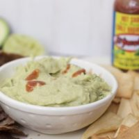 Spicy Avocado Bean Dip