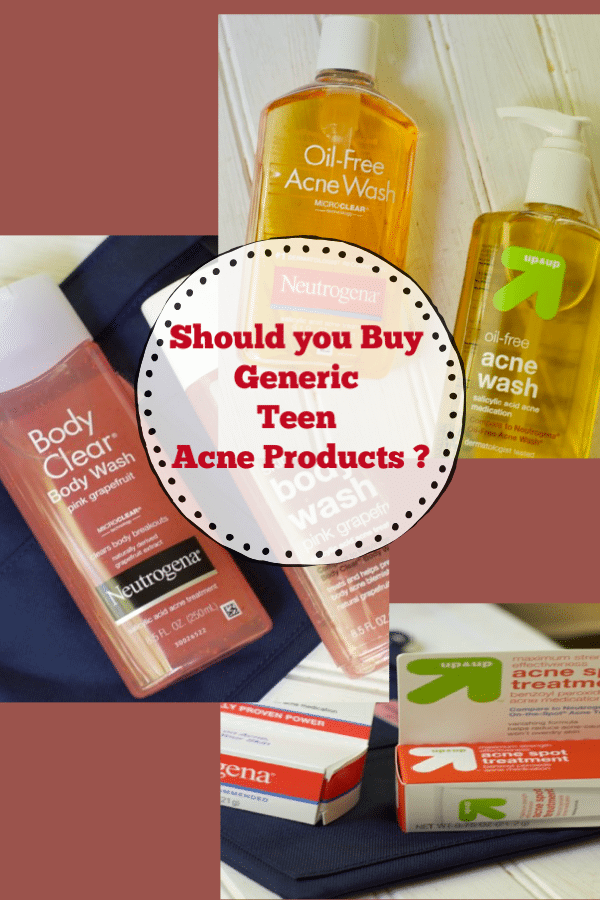 Do Generic Teen Acne Products Work -- Compare with Brandefy app