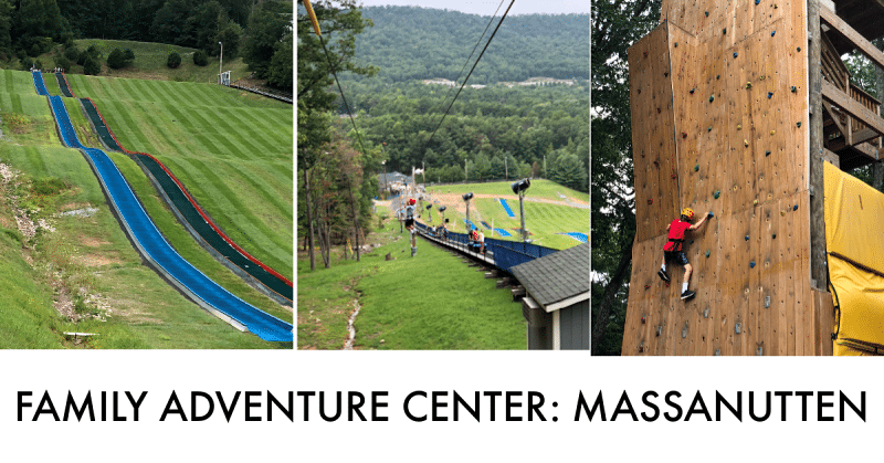 YEAR ROUND activities at massanutten adventure park
