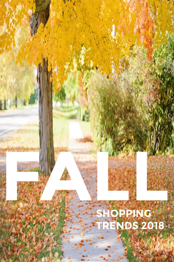 FALL SHOPPING TRENDS teens