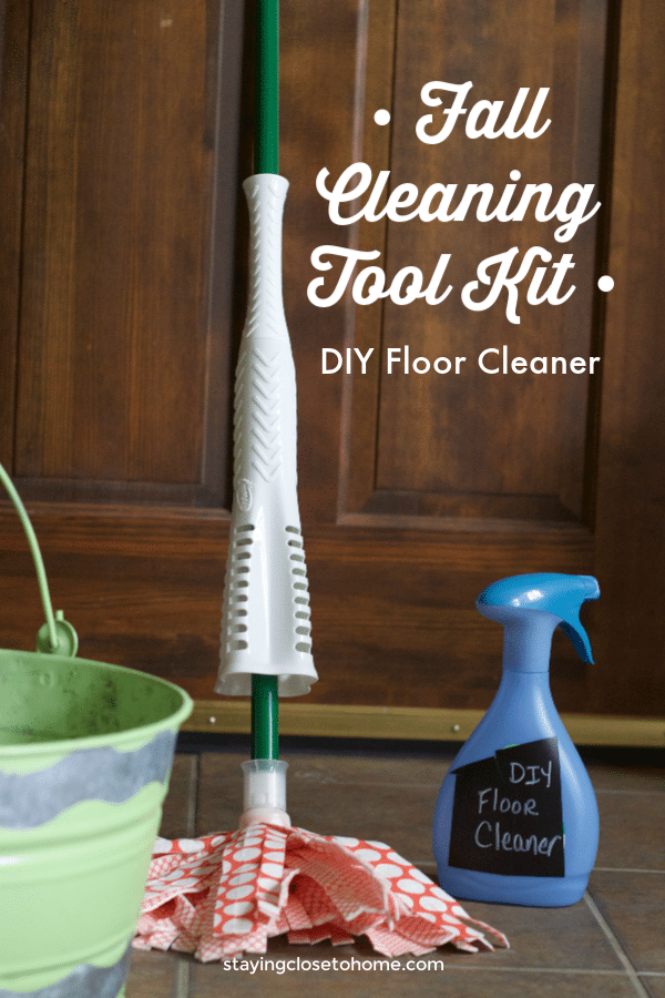 The Most Important Thing in my Fall Cleaning Toolkit: Homemade Floor Cleaner